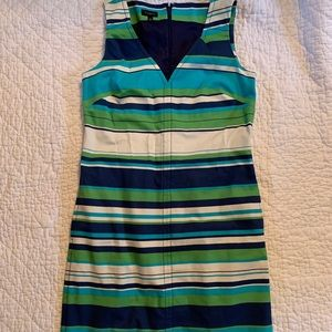 Talbots Striped Dress NWOT